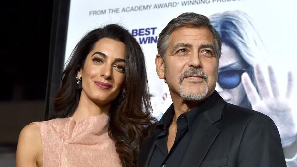 Esta es la comida favorita de los gemelos de George y Amal Clooney