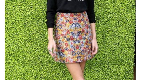 Alexa Chung es la británica reina de los suéteres.