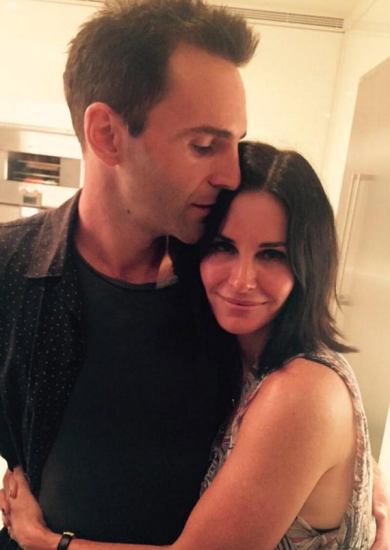 Esta fue la última fotografía que la actriz compartió con Johnny. Esto sucedió a finales de septiembre.