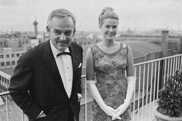 Monaco Royals Attend Society Ball In Ireland
