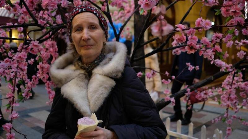Ariadna Korotkova, de 72 años