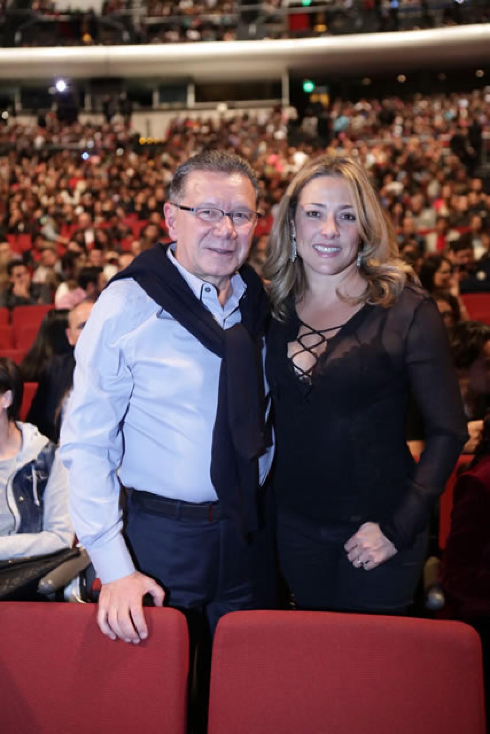 Jorge González y Bibiana Belsasso.