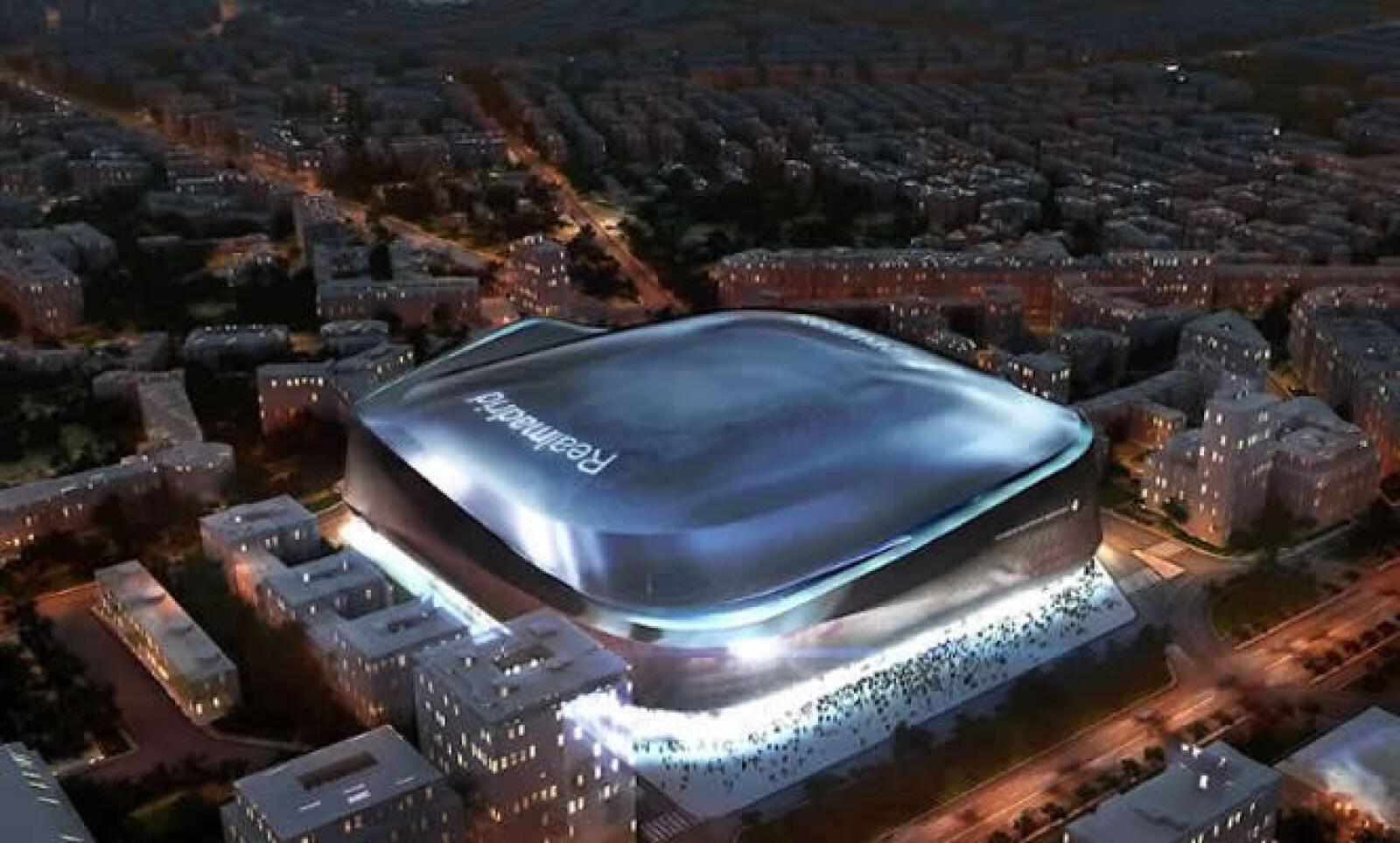 El viernes el Real Madrid anunció la remodelación del estadio Santiago Bernabéu.
