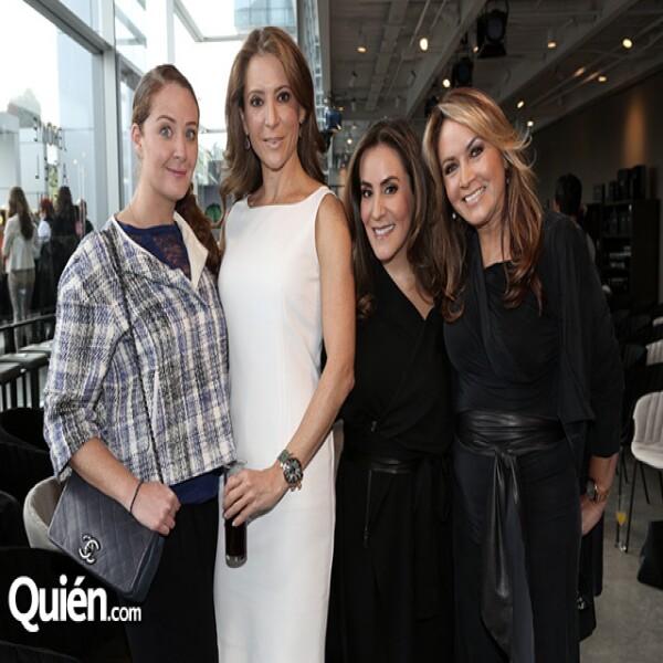 Christiane Keller, Patricia Bessudo, Silvia Rojo y Rosaura Henkel