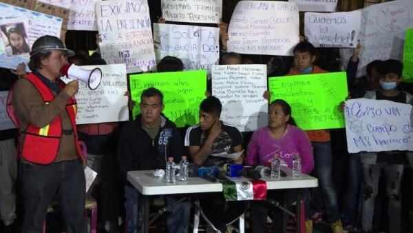 Familiares de víctimas en Álvaro Obregón exigen actualización de información