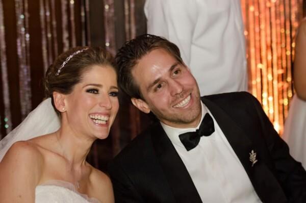 María Inés y Gustavo se casaron en una celebración en el Ex Convento de las Vizcaínas.
