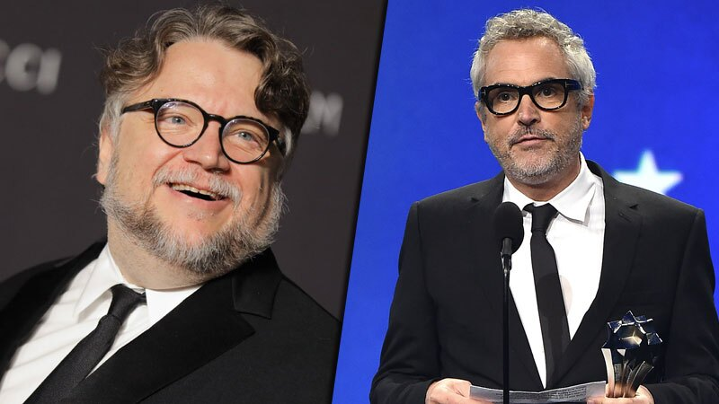 Guillermo del Toro y Alfonso Cuarón