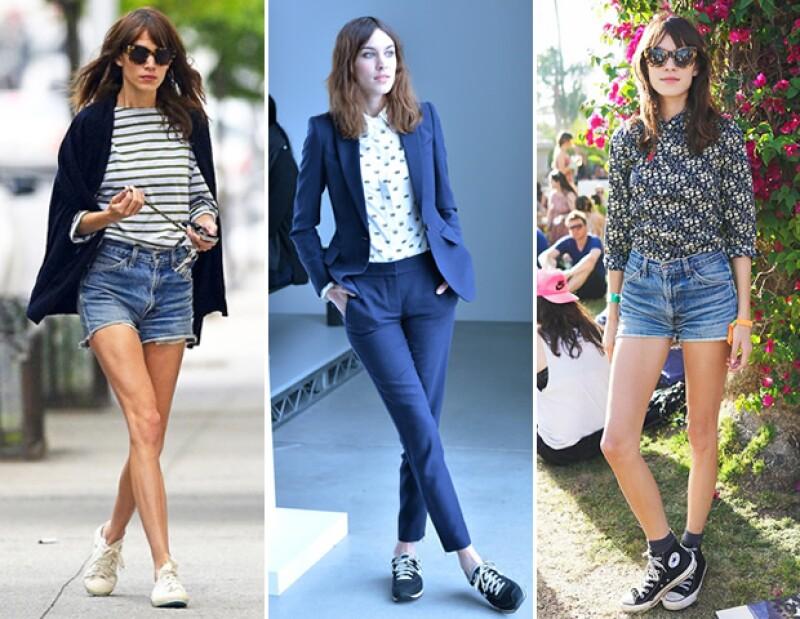 Lejos quedó el asociar los sneakers con verte desarreglada. Así lo comprueban celebridades e íconos de estilo.
