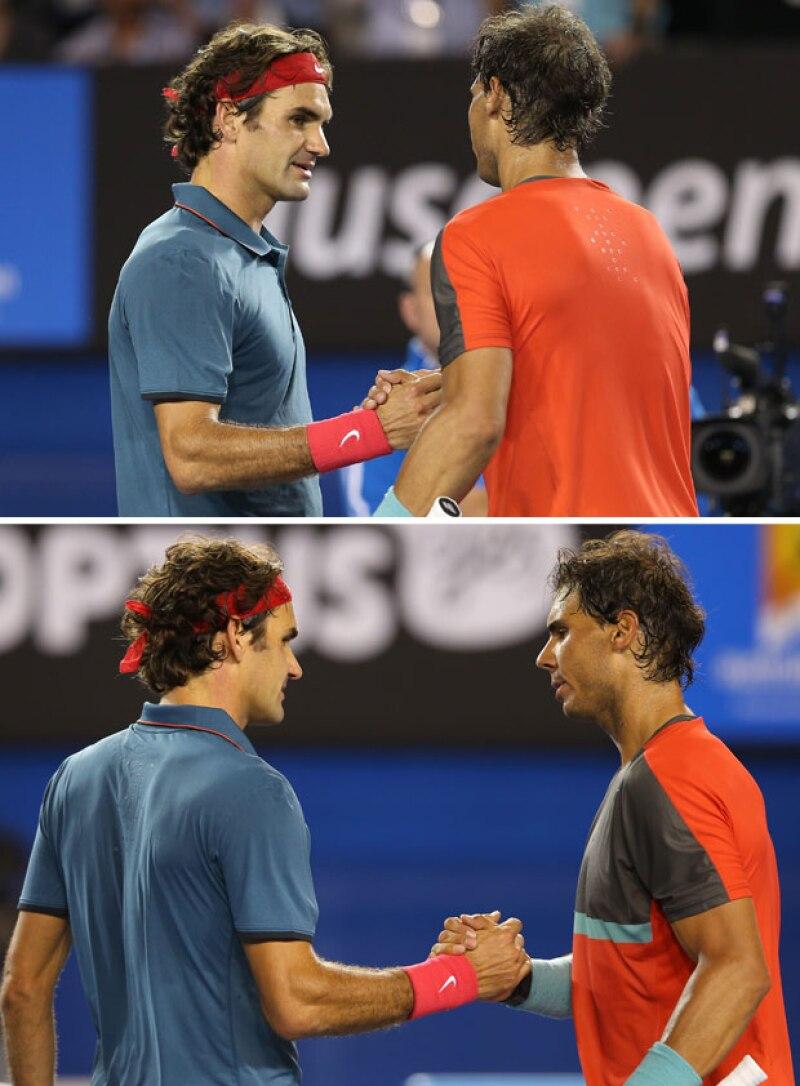 Roger Federer y Rafael Nadal durante años han sido rivales en el campo de tenis, pero también son grandes amigos fuera de la cancha.