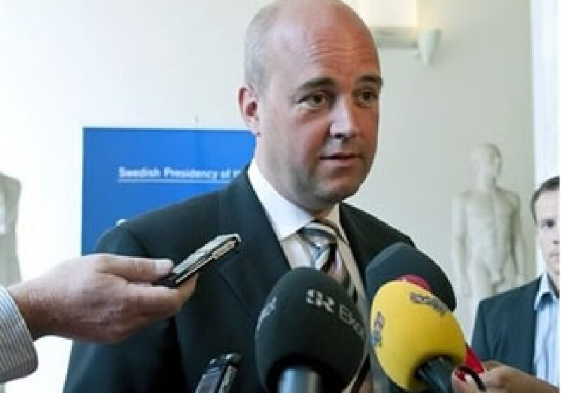 El primer ministro sueco, Fredrik Reinfeldt, dijo que la cumbre del G20 abordaría la situación económica general. (Foto: AP)