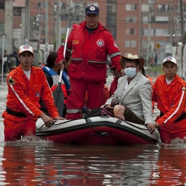 Las lluvias causan estragos en Colombia