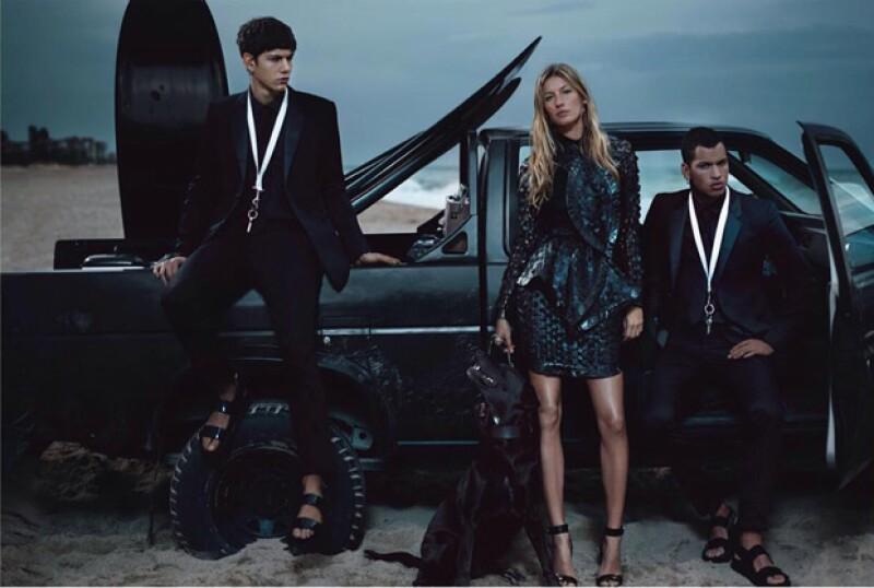 Durante su carrera como modelo, Gisele ha representado varias marcas, entre ellas Givenchy.