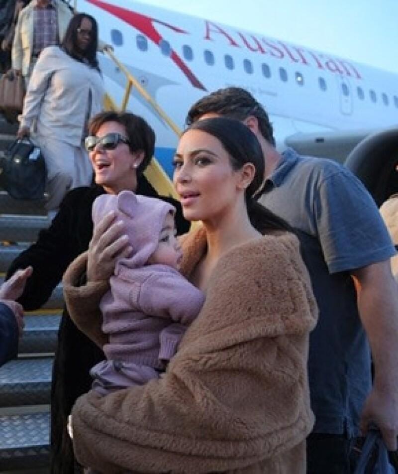 La hermana más famosa aseguró que North usa ropa de su prima Penelope. De hecho Kardashian y Kanye prefieren esperar a que North crezca para que empiece a vestir ropa de diseñadores.