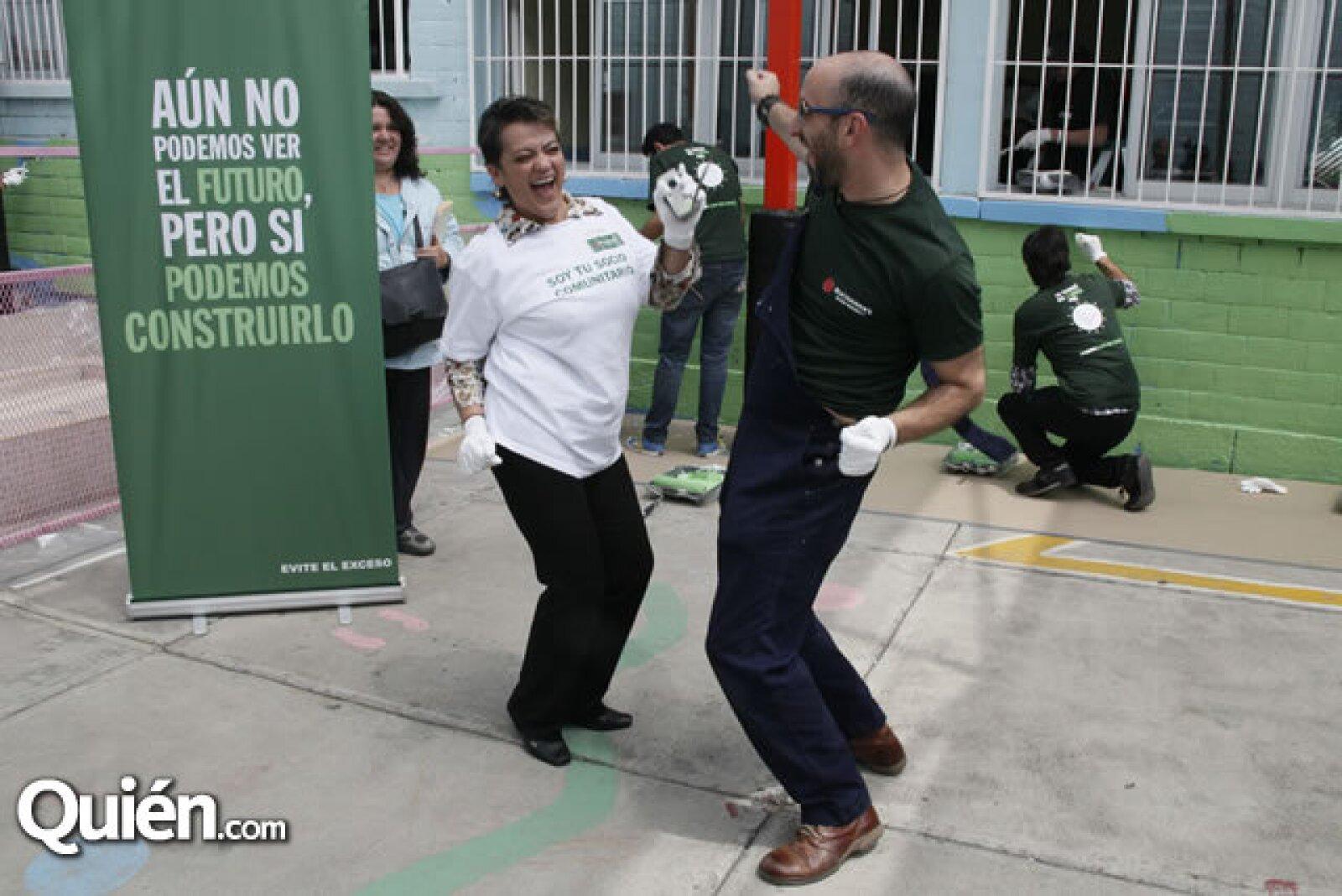 Norma Rodríguez y Ricardo Kleinbaum