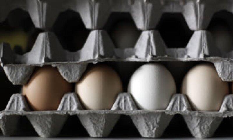 Hacienda aseguró que el alza en elprecio del huevo no representa un deterioro para los índices de inflación.  (Foto: AP)