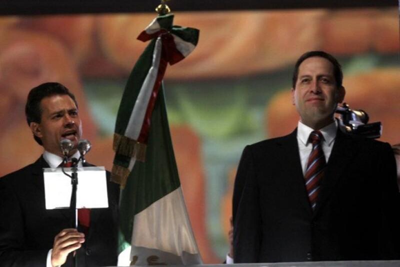Enrique Peña Nieto dio su último Grito de Independencia, como gobernador del Estado de México.