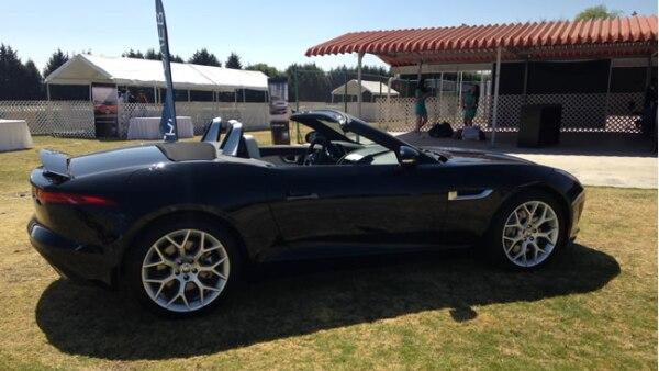El Jaguar F-Type, el lanzamiento m�s reciente de la marca, cuesta 95 mil d�lares.