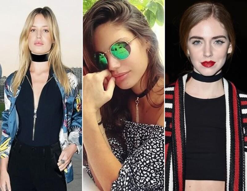 Georgia May Jagger, Sara Sampaio y Chiara Ferragni llevan esta tendencia muy seguido.