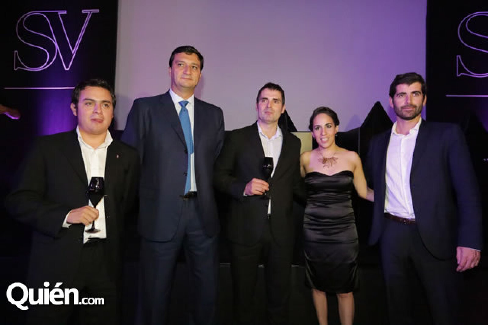 Jesús Flores, Francisco Garzón, Lluis Raventós Llopart, Bárbara Hagman y Arturo Peris