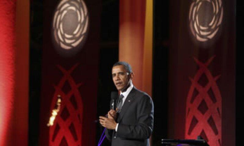 El presidente Obama dijo que toda Europa debería apoyar a los 17 miembros de la eurozona en sus esfuerzos para resolver la crisis de deuda. (Foto: Reuters)