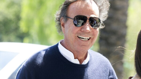 Julio Iglesias Goes To National Police Station