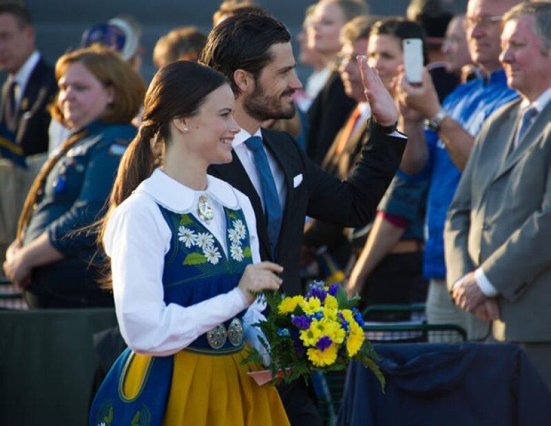 Carlos Felipe y Sofía se casarán el 13 de junio.