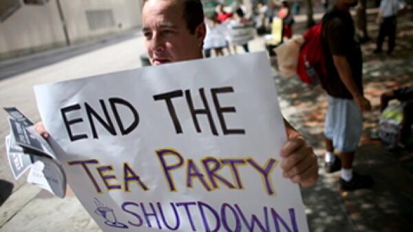 Los miembros del Tea Party del Congreso aumentan las probabilidades del impago en un 20%, según el analista Greg Valliere. (Foto: Getty Images)