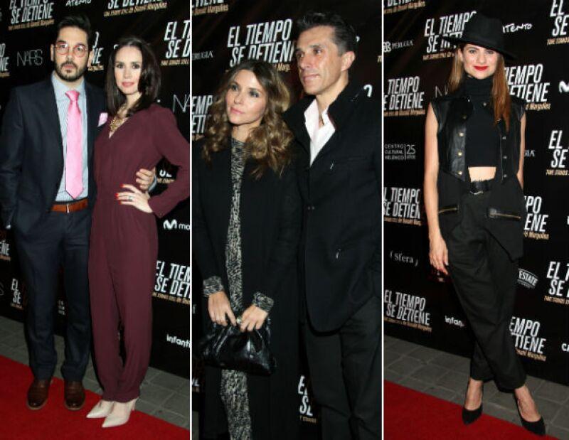 Pedro Ortiz de Pinedo, Andrea Torre, Issabela Camil, Sergio Mayer y María Aura.