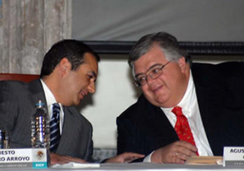 Agustín Carstens fue postulado para dirigir el FMI, por el Secretario de Hacienda, Ernesto Cordero Arroyo. (Foto: Notimex)