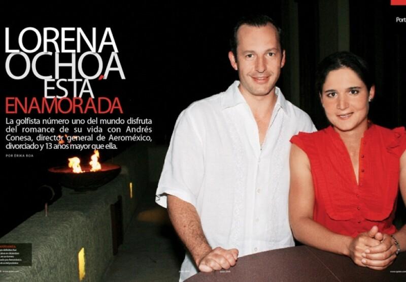 La historia de amor de Lorena Ochoa en Quién