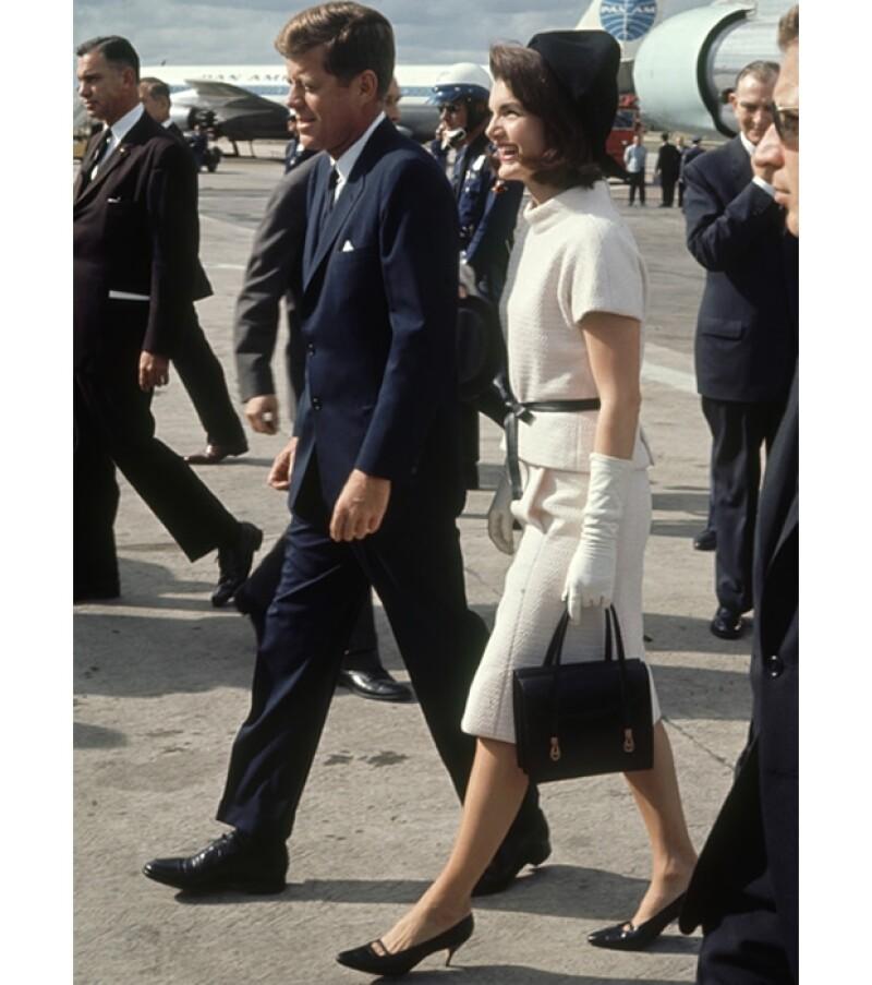 Junto con Jackie, John integro una de las parejas más estilosas de todos los tiempos.