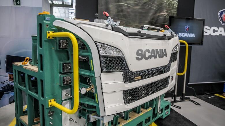 Planta de Scania en São Paulo