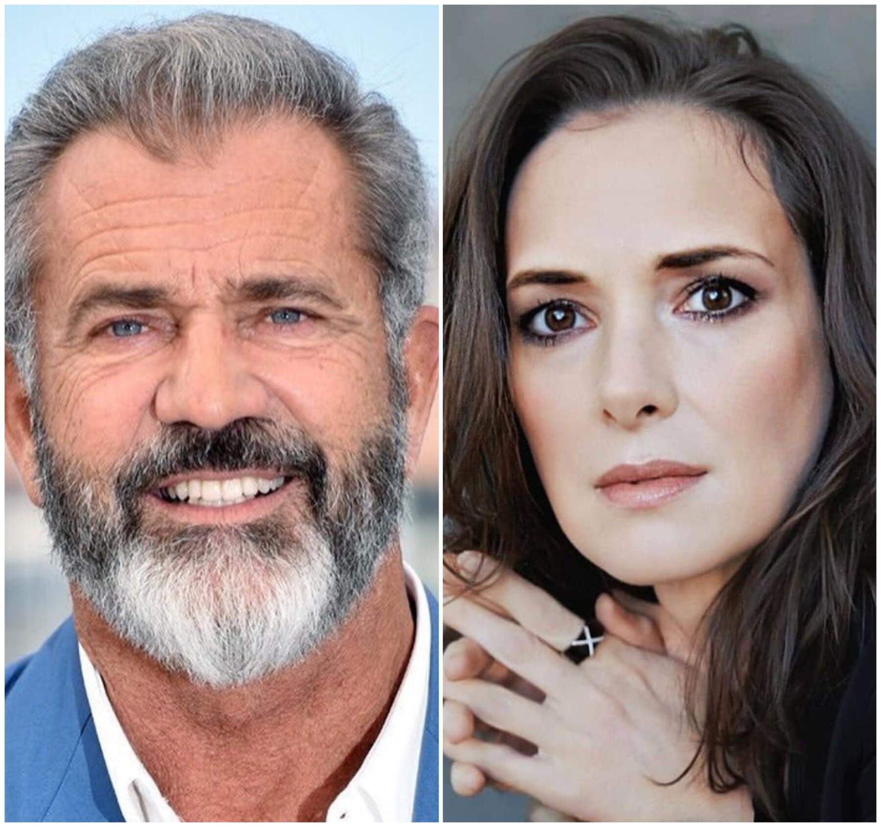 Mel Gibson y Winona Ryder.