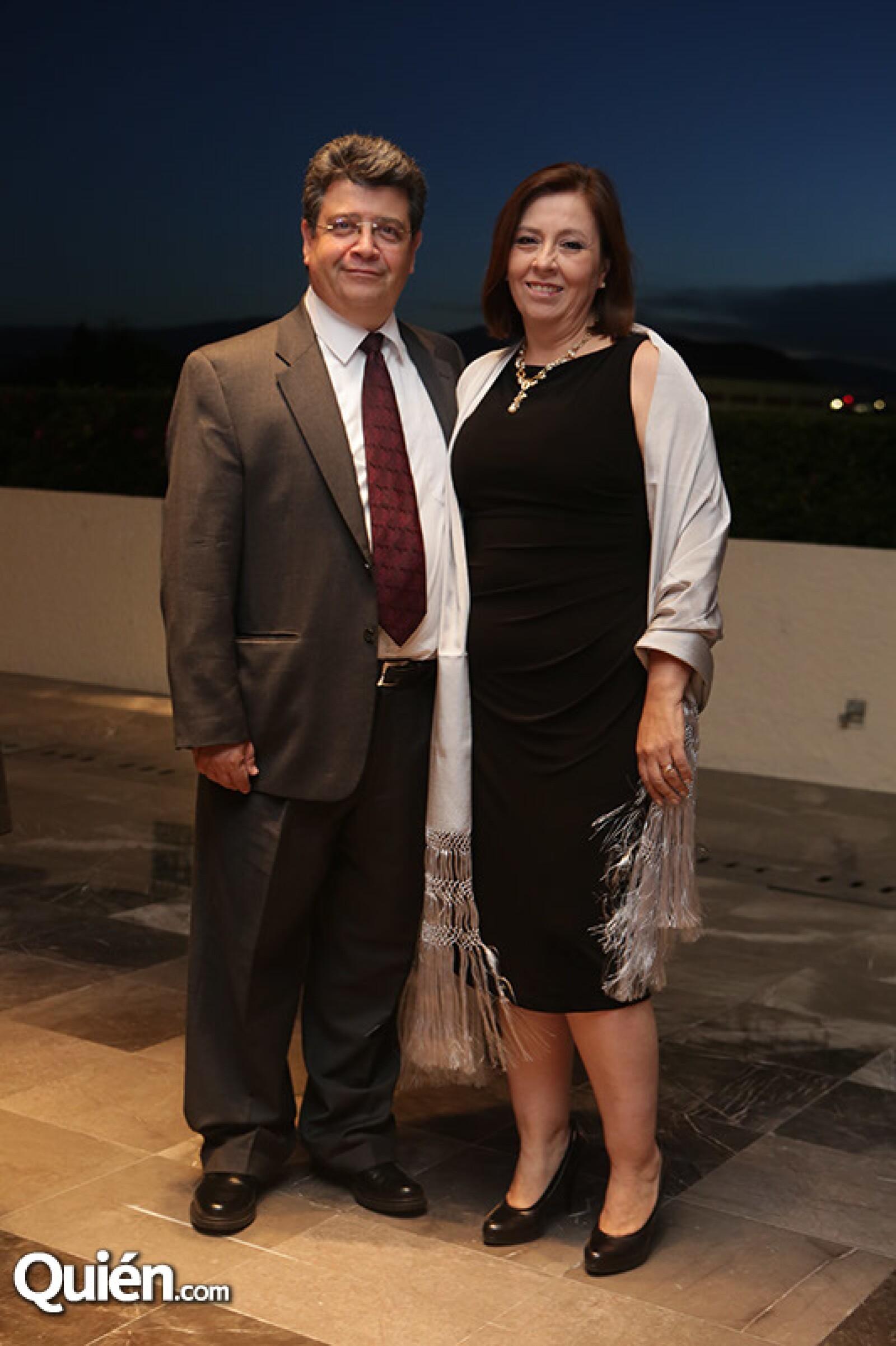 Joaquín y Carolina Durazo