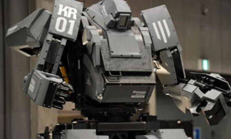 Este es un robot japonés gigante conocido como Kurata. (Foto: Getty Images)