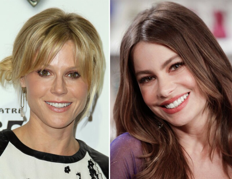 Al parecer el atractivo de la actriz colombiana es motivo para que Julie Bowen tenga miedo cuando camina junto a ella en cualquier alfombra roja, sin embargo ella misma la llamó Barbie.