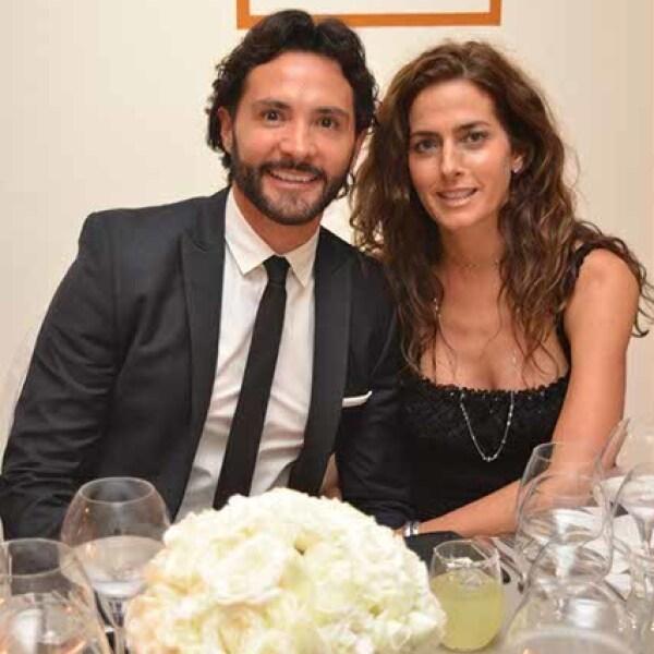 Alejandro Maldonado y Paola Saad.