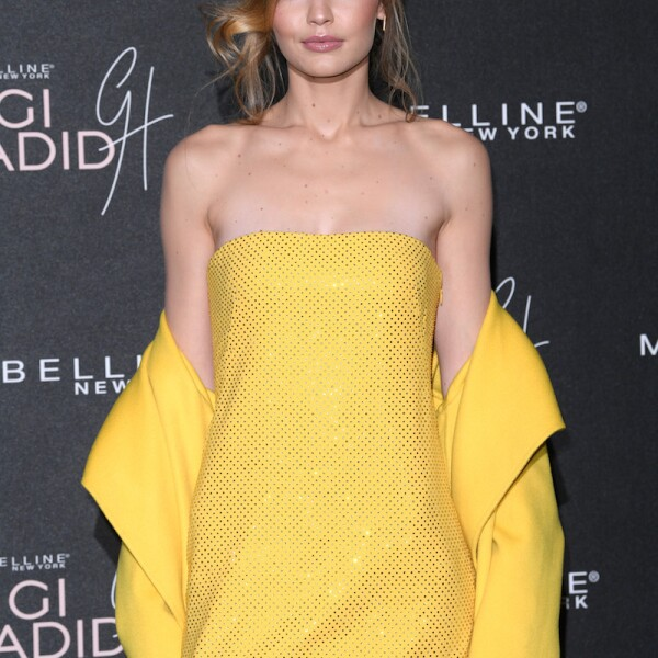 Gigi x Maybelline VIP party, Arrivals, London, UK - 07 Nov 2017