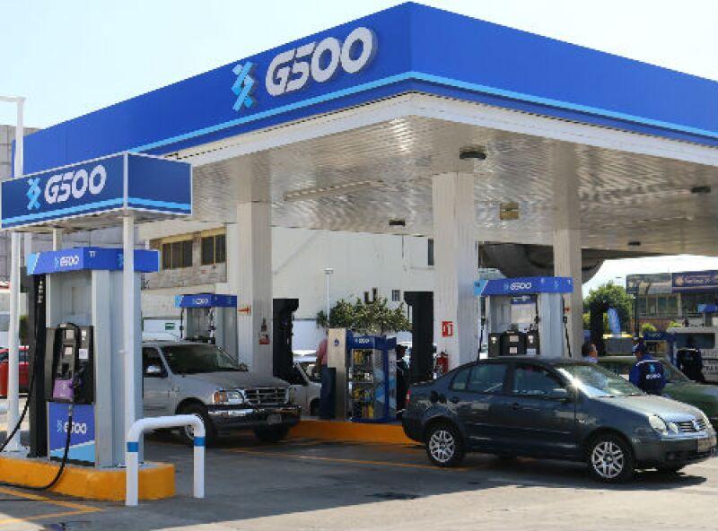 G500 gasolinera en Iztapalapa