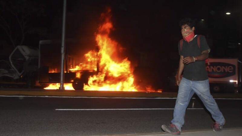 normalistas protestas Oaxaca