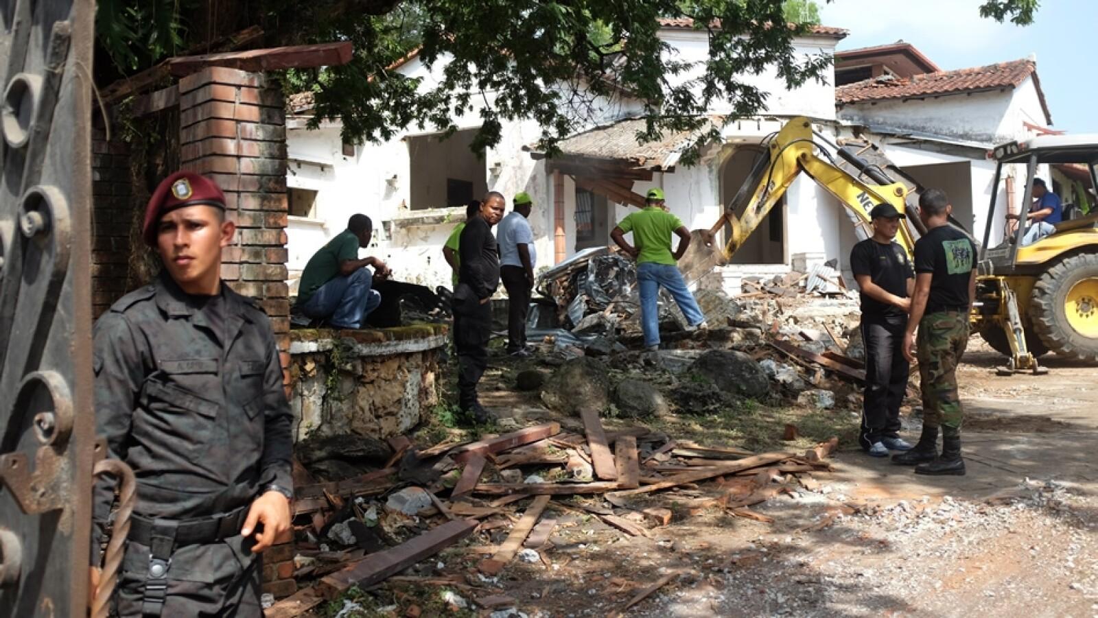 demolicion de antonio noriega