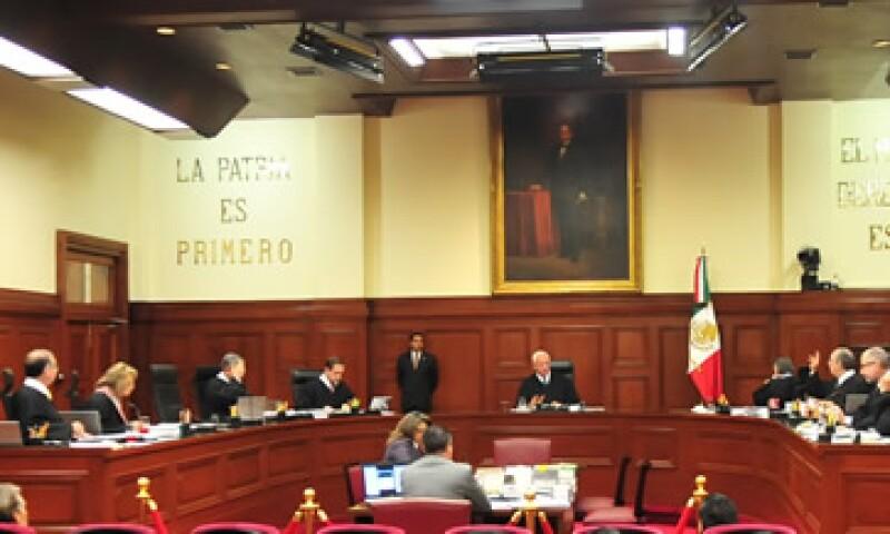 Seis ministros votaron en contra de la consulta y 4 a favor. (Foto: Notimex )