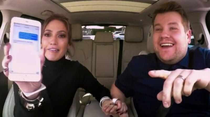 James Corden se está superando con cada invitado a Carpool Karaoke. En esta ocasión, Jennifer López fue copiloto en la famosa sección de su late show ¡y está divertidísima!