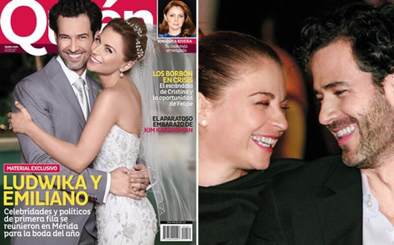 Se casaron en Mérida en abril de 2013. La boda tuvo más de 700 invitados. Entre ellos, Quién®.