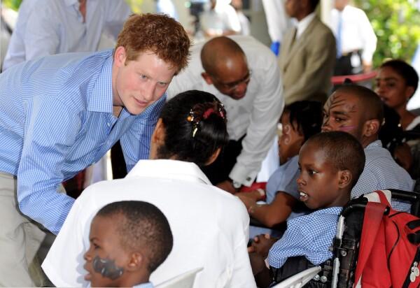 Prince Harry Visits Barbados - Day 2