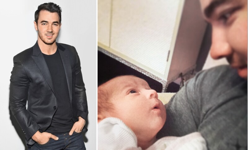 Kevin Jonas se convirtió en papá a los 26 años.