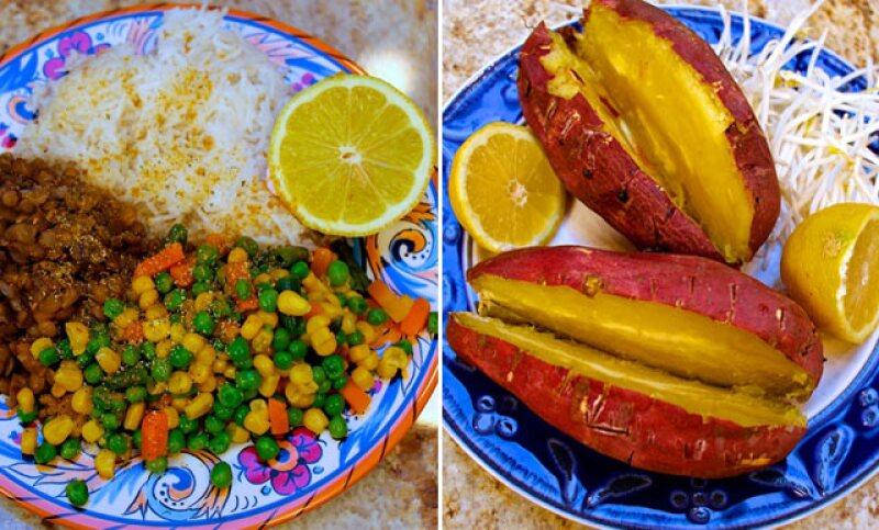 Lo que Nina y Randa comen, así como los ingredientes que compran, los puedes encontrar en su página web.