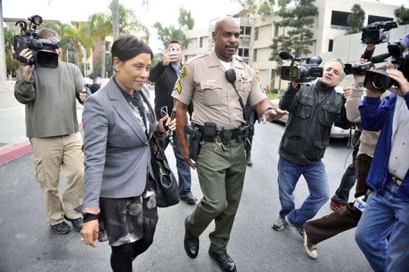 Ella es la juez que estaría encargada de decidir si Lindsay Lohan va o no a prisión.