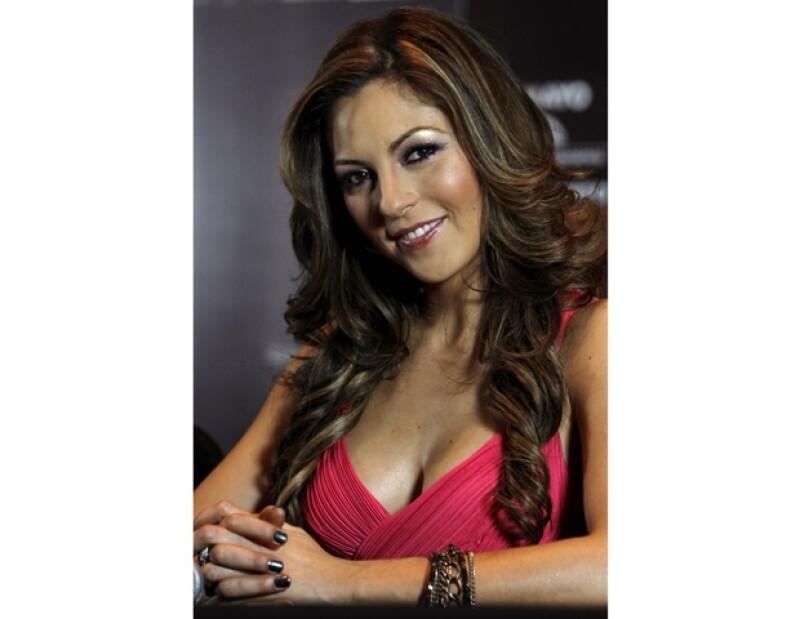 La cantante mexicana se siente muy contenta y satisfecha en su faceta de empresaria.