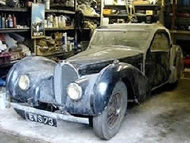 El Bugatti Tipo 57S Atalante alcanzaba una velocidad máxima de 209 km/hr. (Foto: AP)